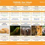 Elim Weekly Activity Plan - Zoo Week