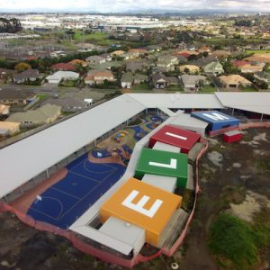 Junior Campus Aerial Photo
