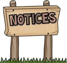 Image result for notices images